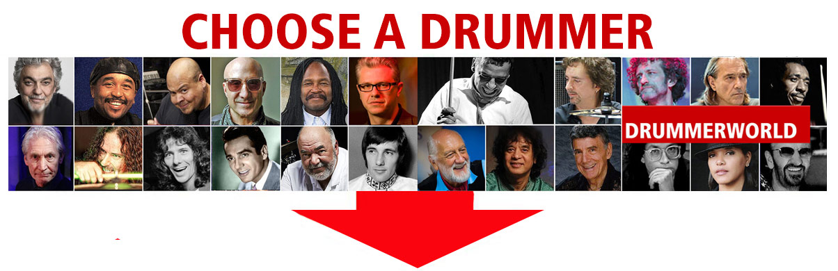 Choose A drummer from Drummerlworld
