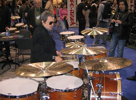 Jim Keltner Drummerworld