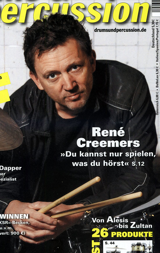 The Drumbassadors René Creemers - Wim De Vries Drummerworld