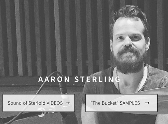 Aaron Sterling Drummerworld