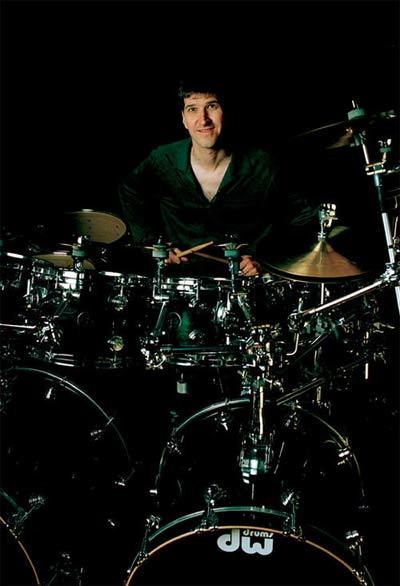 Chad Wackerman Drummerworld