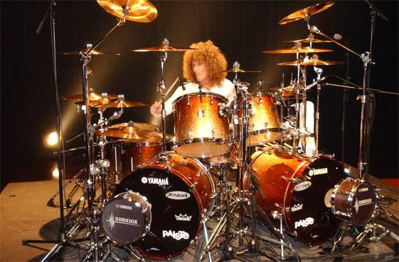 Tommy Aldridge Drummerworld