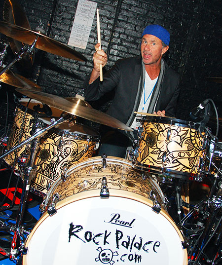 Chad Smith Drummerworld