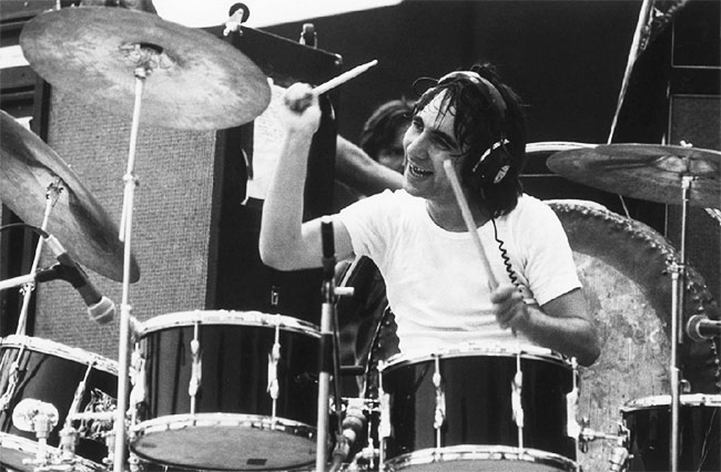 Keith Moon - THE WHO - Drummerworld