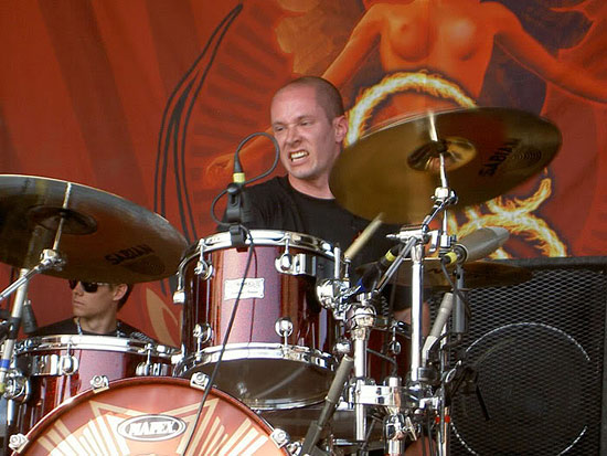 Chris Pennie Drummerworld