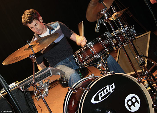 Johnny Rabb - Drummerworld